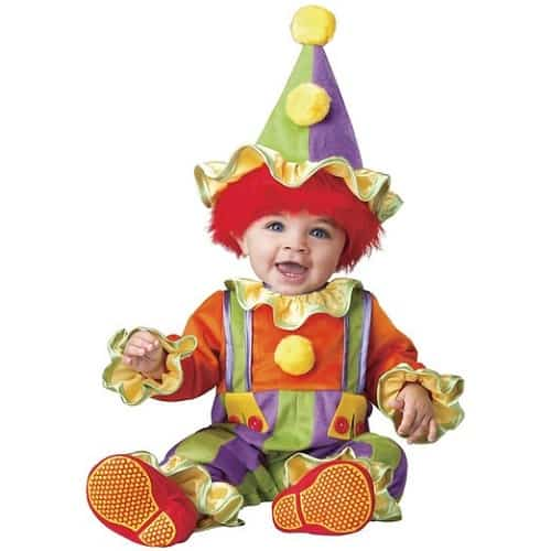 Baby's Cuddly Clown Costume