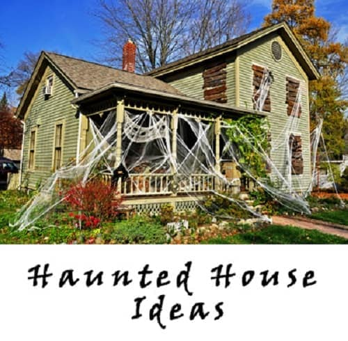 Easy Halloween Haunted House Ideas