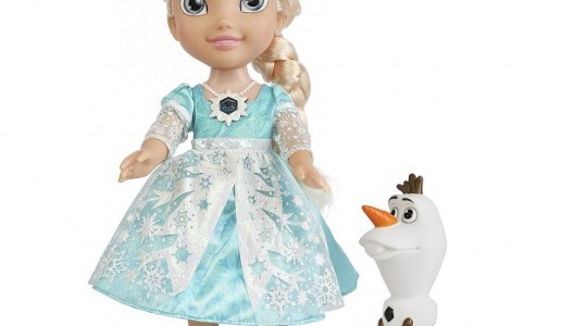 Disney Frozen Snow Glow Elsa Toddler Doll Review
