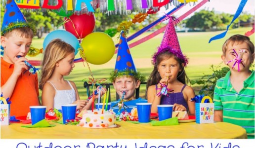 Outdoor Party Ideas for Kids