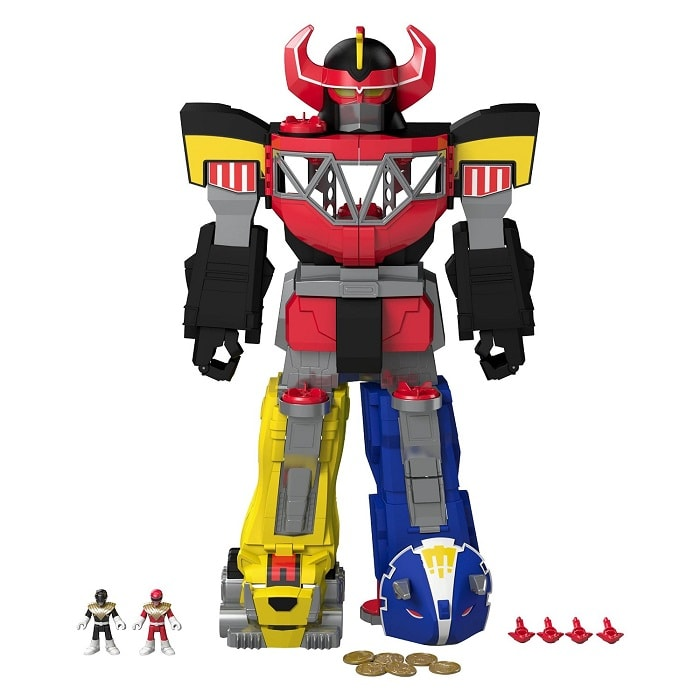 Fisher-Price Imaginext Power Rangers Morphin Megazord Review