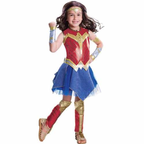 Deluxe Wonder Woman Costume for Girls