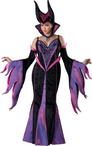 Women's Plus-Size Dark Sorceress Costume