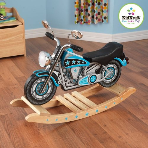 KidKraft Star Studded Motorcycle Rocking Horse