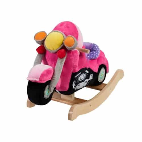 Pink Lil' Biker Rocker