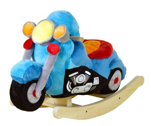 Rockabye Lil' Biker Motorcycle Rocking Horse