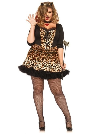 Sexy Plus Size Cat Costumes