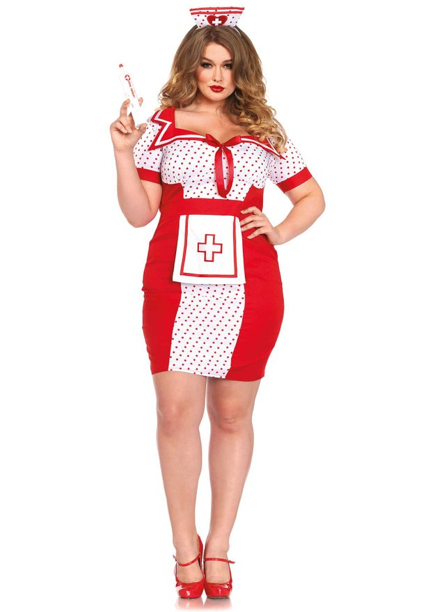 Top 5 Sexy Plus Size Nurse Costumes