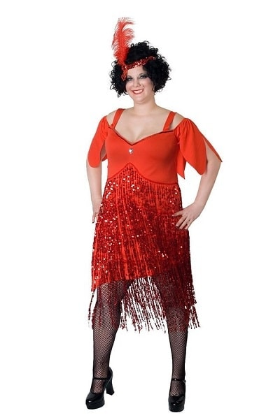 Sexy Plus Size Flapper Costumes