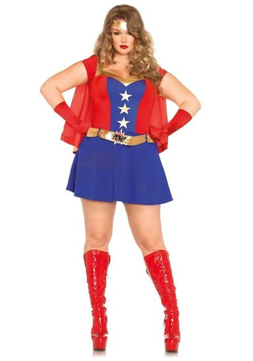 Comic Book Girl costume Plus size