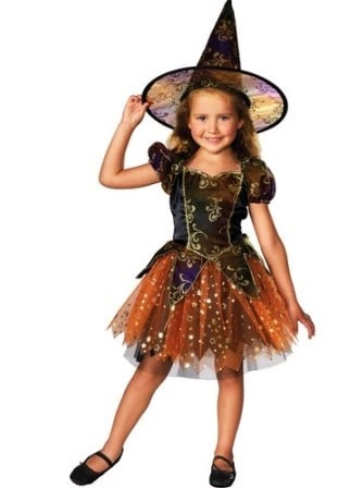 Elegant Witch Toddler Halloween Costume