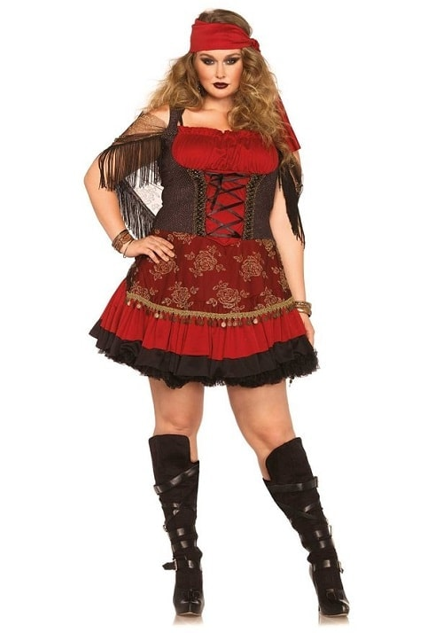 Top 7 Sexy Plus Size Gypsy Costumes