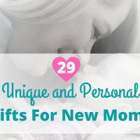 30+ Unique and Personal Gifts for New Moms