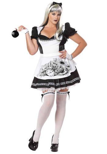 Plus Size Dark Alice Costume