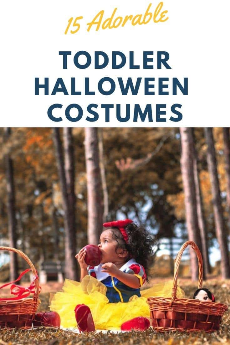 Adorable Toddler Halloween Costumes