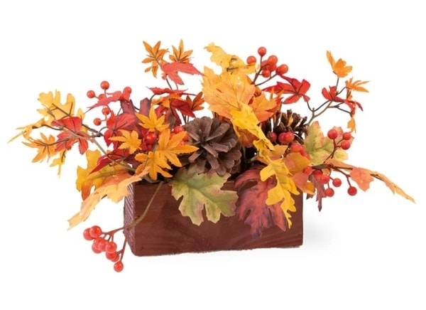 Maple Leaves Tablescape Centerpiece