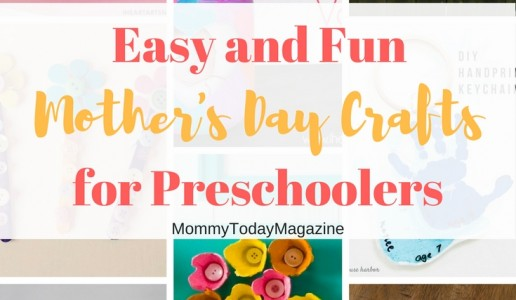Easy and Fun Mother's Day Crafts For Preschoolers