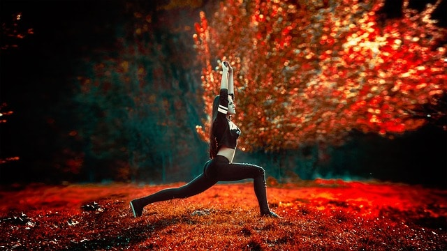 Yoga in Autumn - Fall Self Care Ideas