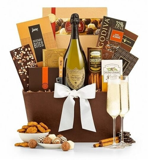 The Royal Champagne Gift Basket