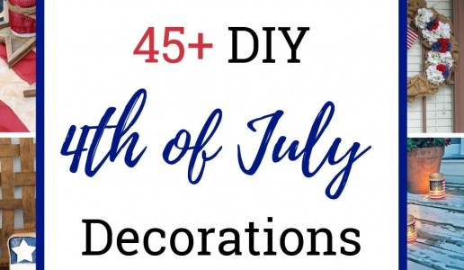 45 DIY 4th Of July Decorations