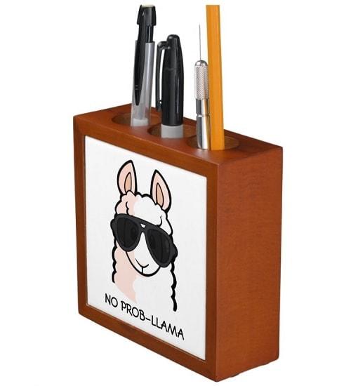 No Prob-Llama Pen Holder