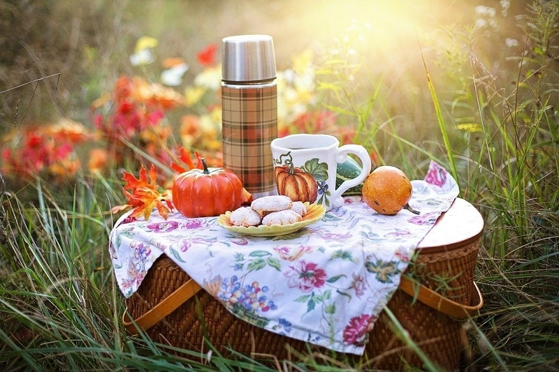 Fall Picnic - Autumn Self Care Ideas