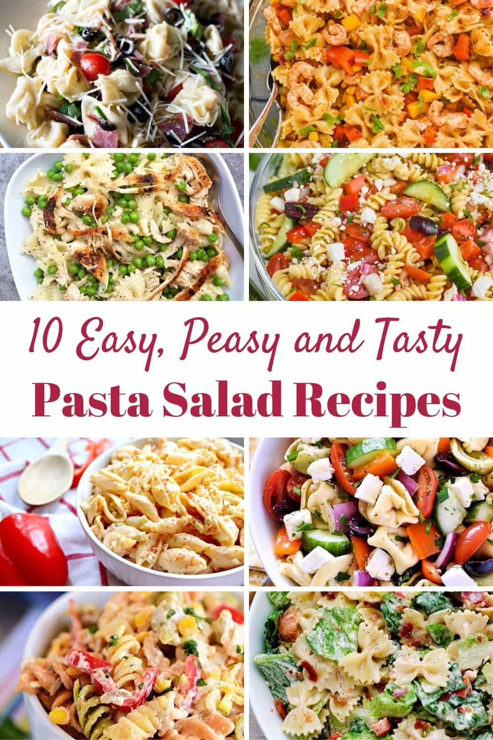 10 Tasty Pasta Salad Recipes That Are Easy To Make