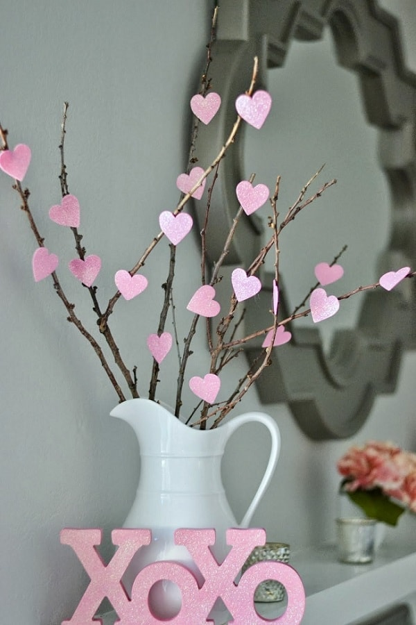DIY Valentine's Day Tree