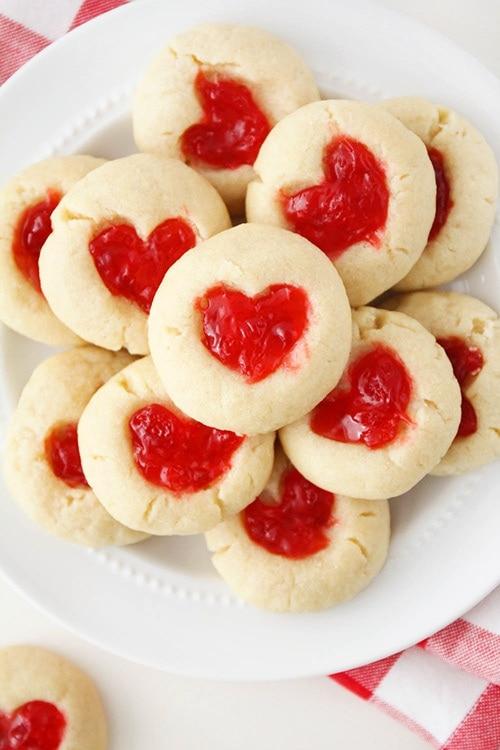Gummy Bear Heart Cookies Recipe