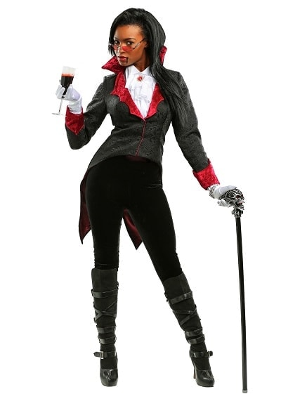 Dashing Plus Size Vampiress Costume