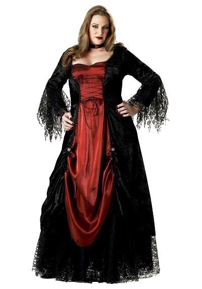 Plus Size Victorian Vampire Costume