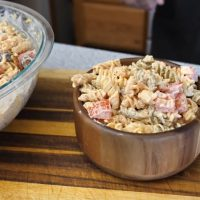 Cajun Ranch and Bacon Pasta Salad