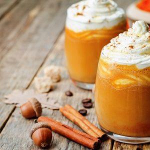 Honey Pumpkin Spice Latte
