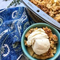Baked Cinnamon Apple Crisp Recipe