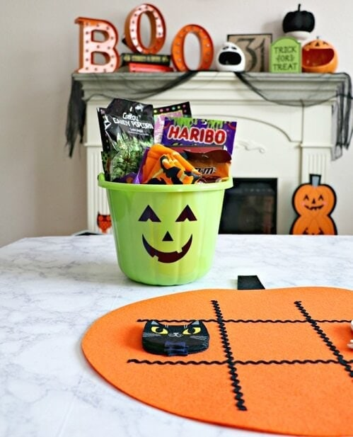 Halloween Pajama Buckets