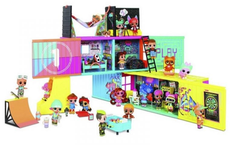 LOL Surprise Remix Clubhouse Playset