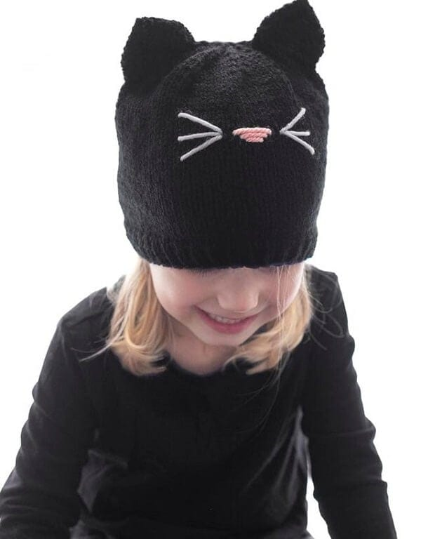 Halloween Black Cat Hat - DIY Halloween Craft Ideas