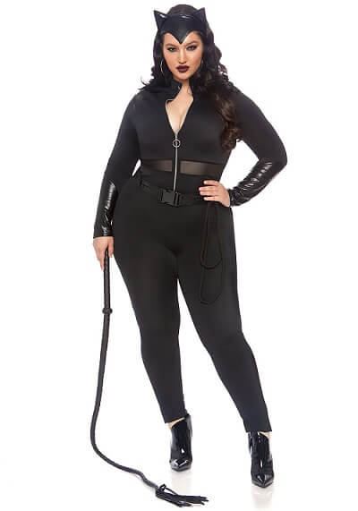 Women's Plus Size Sultry Supervillain Costume
