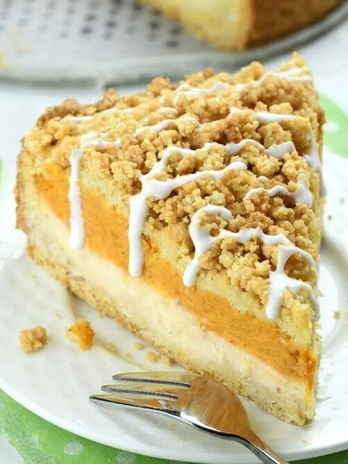 Pumpkin Cheesecake Crumb Cake