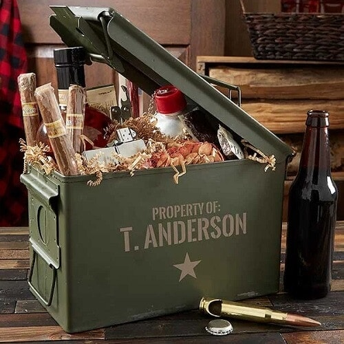 Authentic Personalized Ammo Box - Valentine's Day Gifts for Him