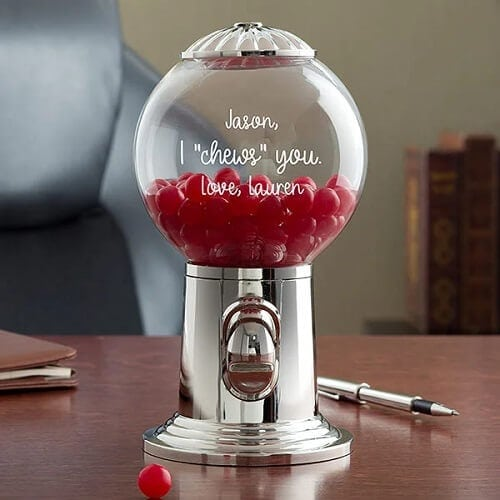 I Chews You Personalized Candy Dispenser