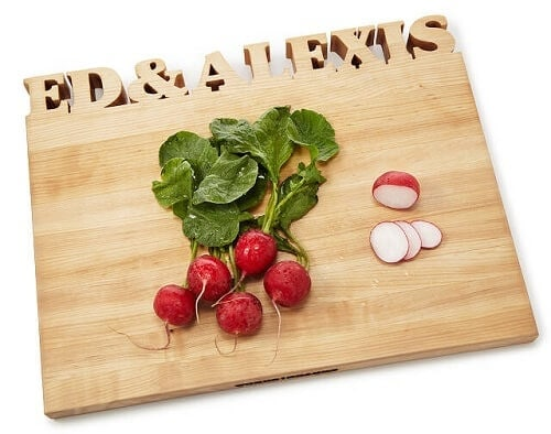 Personalized Cutting Board - Valentine's Day Gifts for Him