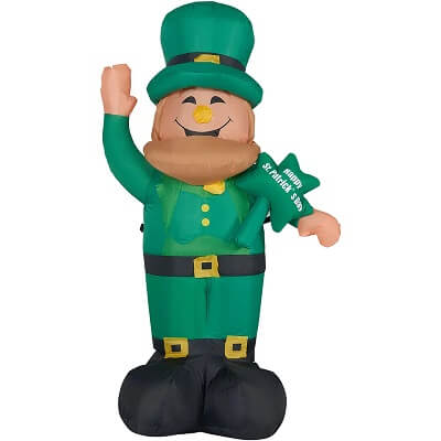 St. Patrick's Day Lucky Leprechaun Inflatable